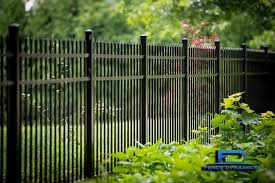 Elegant Black Aluminum Picket Fencing Is Just One Of The Many Options Offered By Fence Dynamics Contact Us Today A Backyard Fences Fence Design Aluminum Fence