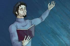 puisi bahasa inggris artinya tema lengkap