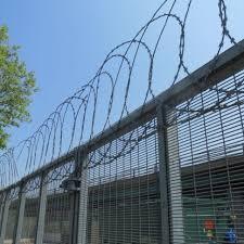 Flat Razor Wire Security Fencing Toppings Zaun Ltd
