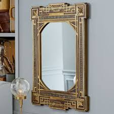 fantastic beasts art deco mirror