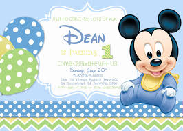 Bestofpicture Com Images Pictures Of Baby Mickey Invitaciones