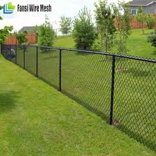 1 8m High Black Pvc Coated Residential Chain Wire Mesh Fencing Buy Chain Wire Mesh Fencing 9 Gauge Chain Link Wire Mesh Fence Diamond Mesh Fence Wire Fencing Product On Alibaba Com