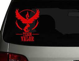 Pokemon Go S Team Valor Leader Vinyl Car Decal Sticker 6 75 H Ebay
