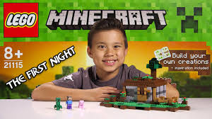 Best LEGO MINECRAFT - Set 21115 THE FIRST NIGHT - Unboxing, Review ...