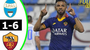 SPAL vs AS Roma 1−6 Highlights All Goals - 22 07 2020 - YouTube
