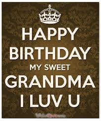 birthday wishes that any grandma will like to receive
