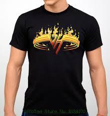 Yeni Kısa Kollu Yuvarlak Yaka Erkek T Shirt Moda 2018 Van Halen Tişört Rock  Grubu T-shirt Siyah Yeni çevrim içi satın al < üstleri ve tee \  www7.Magfc.org