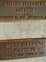 Polly Harrison Gardner (1929-1995) - Find A Grave Memorial