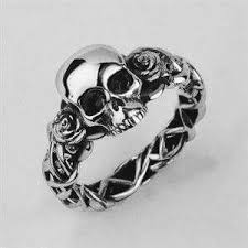 Pin by Stefanie West on Best Skull rings | Skull jewelry, Skull wedding  ring, Gothic jewelry