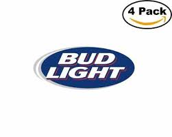 Other Breweriana Collectibles Collectibles Bud Light Beer Company Vinyl Decal Stickers Zsco Iq