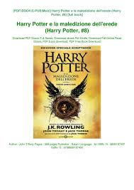 Free audiobook downloads to ipod Harry Potter e la maledizione dell'e…