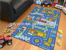 kids foam street road play mat