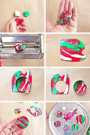 homemade ornaments with
