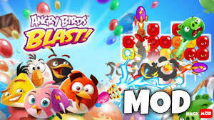 Angry Birds Blast MOD APK - YouTube