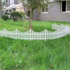 33cm Plastic White Plug In Fence Garden Decoration Fence Sale Banggood Com Sold Out Arrival Notice Arrival Notice