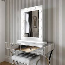 white gloss 80 x 60cm by hollywood mirrors