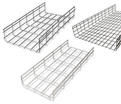 SIS Rectangular SS Wire Mesh Cable Tray, Thickness: 5 mm, Rs 400 /kg | ID:  21180002912