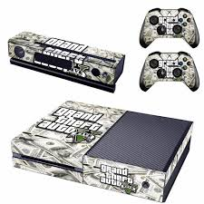 Gta 5 Skin Sticker Decal For Microsoft Xbox One Console And 2 Controllers