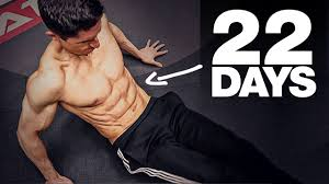 6 pack in 22 days home ab workout
