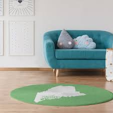 portland me poly chenille rug