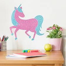 One Of A Kind Bling Unicorn 2 Piece Wall Decal Set Buybuy Baby