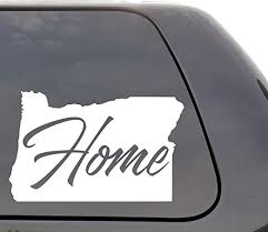 Amazon Com Oregon Decal Oregon Or Decal Home State Decal State Decal Car Decals Yeti Decal Laptop Decal State Love Window Decal Vinyl Wall Window Door Car Truck Home Kitchen