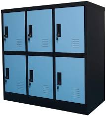 Amazon Com Mecolor Metal Kids Locker For Girls Bedroom And Playroom Storage For Clothes Bags Toys And Book Blue 6d Furniture Decor