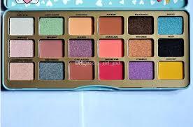 makeup eyeshadow palette faced clover a