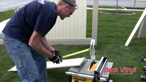 Vinyl Fence Installation Bestvinyl Com Part 2 Of 2 Youtube