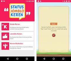 status jomblo keren apk latest version com