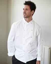 dennys long sleeve chefs jacket mens