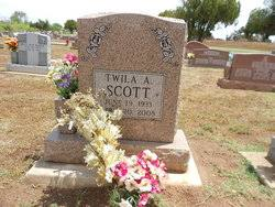 Twila Scott (1933-2008) - Find A Grave Memorial
