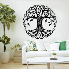 Large Tree Wall Decals Art Bedroom Living Room Decor Tree Of Life Wall Stickers Creative Cosmic Trees Home Mandala Decal Decor Decals Decor Designs Wall Decals From Onlinegame 12 66 Dhgate Com