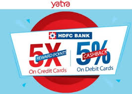 yatra offer with hdfc bank 5 reward