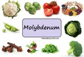 the health benefits of molybdenum