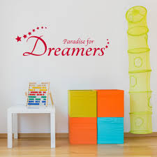 Shop Paradise For Dreamers Wall Decal Vinyl Art Home Decor Quotes And Sayings Overstock 11706917
