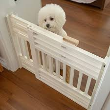 Doors Gates Ramps Soundwinds Dog Safety Gate Indoor Wooden Retractable Dog Fence Pet Gate Guard Portable Folding Dog Sliding Door For Doorway Stairs Kitchen Pet Supplies Dogs