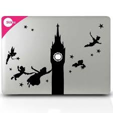 Peter Pan Macbook Decal Par Stikrz Sur Etsy 9 98 Macbook Decal Mac Stickers Computer Sticker