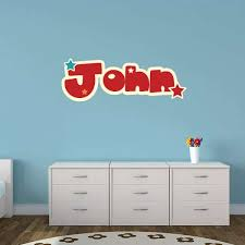 Childrens Name Wall Stickers Vinyl Name Wall Decals
