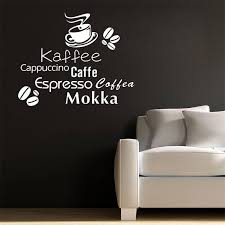 All Kinds Coffee Quote Wallpapers Coffee Cup Coffee Beans Wall Decal Home Decoration Vinyl Arthome Decor Y 274 Home Decor Decorative Vinylwall Decals Aliexpress