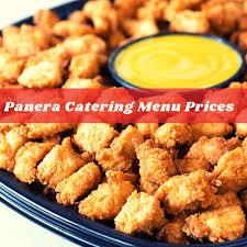 panera catering menu s panera