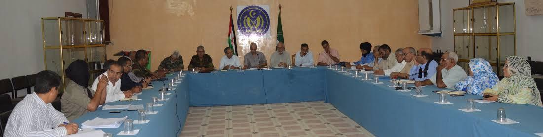 """Resultado de imagen de reunion del secretariado nacional del Frente Polisario"""""""
