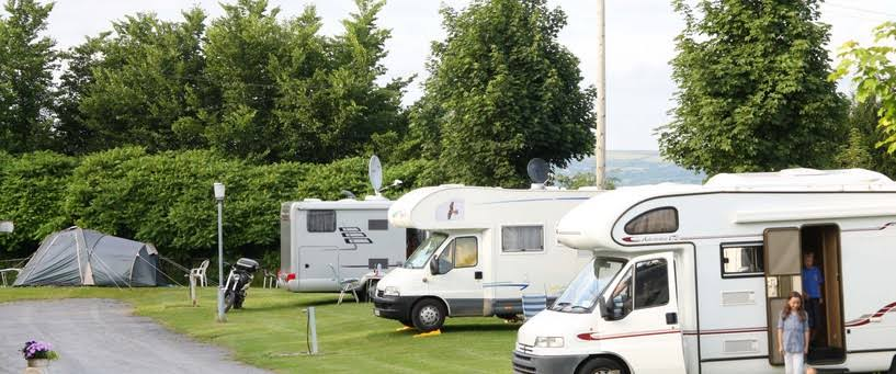 Tree Grove Caravan and Camping Park in Kilkenny