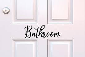Bathroom Decals Run Wild Designs