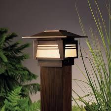 Deck Post Lights Low Voltage Deck Design And Ideas