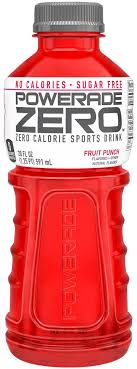 powerade zero sugar fruit punch 20