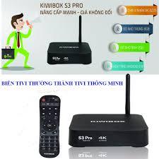 Android tv box m80 , Android box fpt - Android tv box, KIWIBOX S3 PRO biến  Tivi thường thành Tivi thông minh, khuyến mại khủng hôm nay S371 - BH Uy Tín