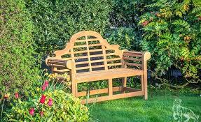 garden bench seat sitting cushion