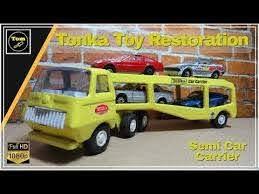 Tonka Serv I Car Water Slide Decal Set