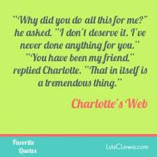 friendship quotes from charlottes web quotesgram